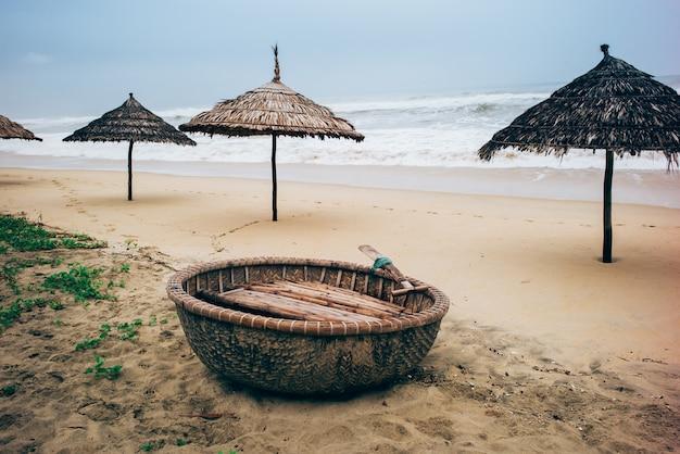 Łodzie kokosowe, wietnam