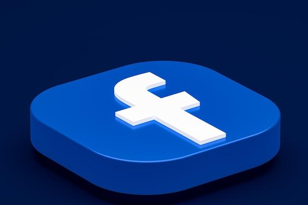 Logo 3d facebooka