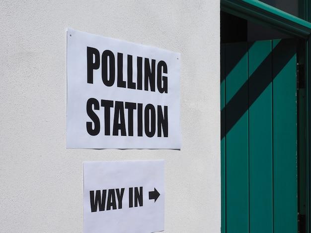 Lokal wyborczy do wyborów powszechnych