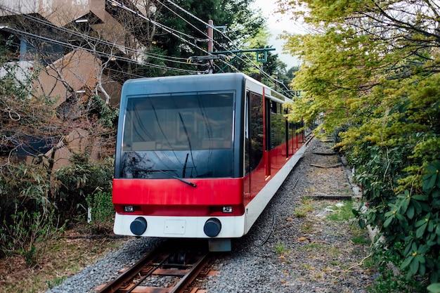 Lokalny pociąg w japonii
