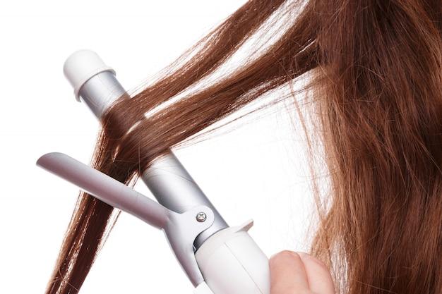 Lokówka i włosy