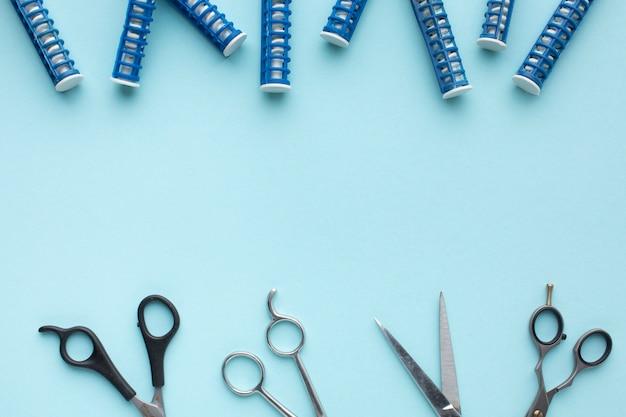 Lokówki i nożyczki do włosów