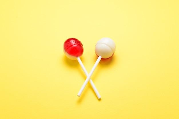 Lollipop na żółto