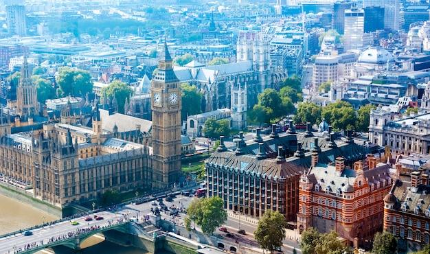 London city skyline, wielka brytania,