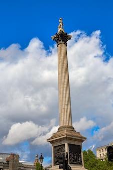 London trafalgar square w wielkiej brytanii