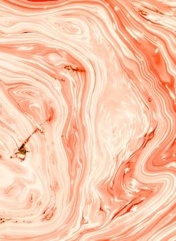 Łososiowy drzewny skorupa abstrakt w oleju