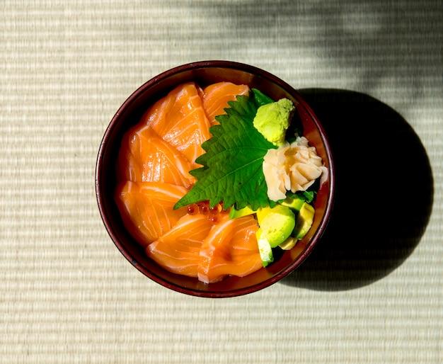 Łososiowy ikura japoński karmowy zdrowy