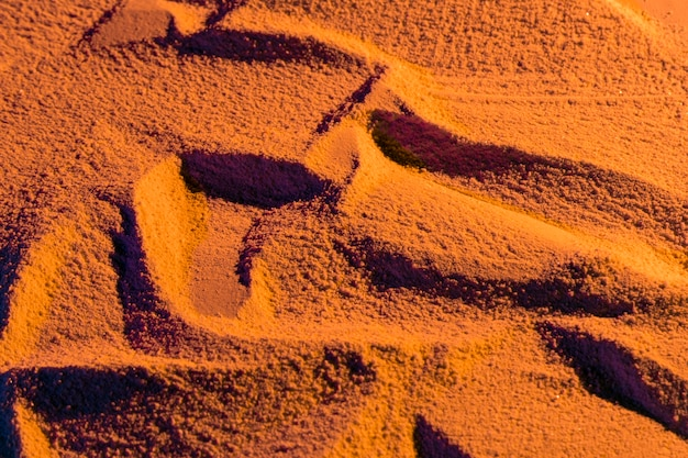 Losowo zaprojektowany piasek plażowy
