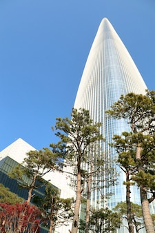 Lotte seoul sky in korea