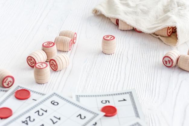 Lotto gry planszowej