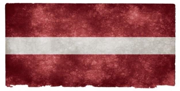 Łotwa grunge flag