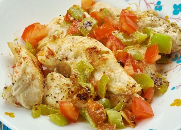 Low syn chinese salt and pepper chicken, z bliska chińskie danie