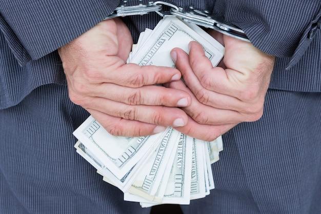Lśniące biznes biznesmen finanse studio