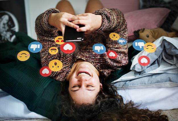 Lubi w mediach społecznościowych