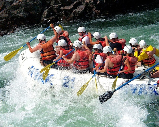 Ludy rzeka działalność fraser rafting outdoor