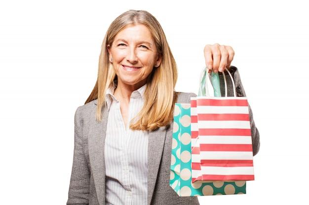 Ludzie sklepie zakupy biznesu osobę