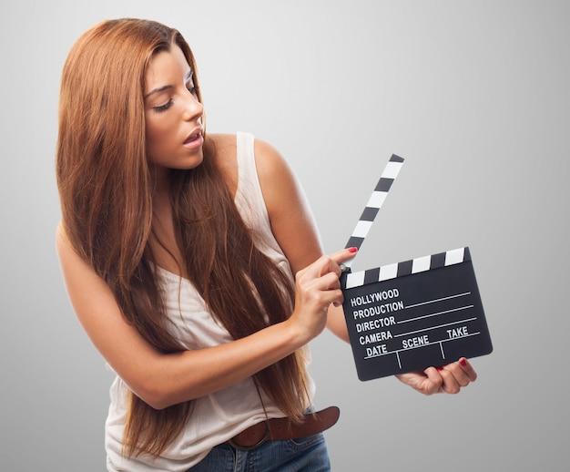 Ludzie uczeń piękne tło filmu