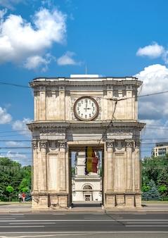 Łuk triumfalny w kiszyniowie, mołdawia