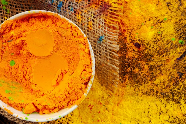 Łuki kolorowe mocy holi z bliska na podłodze