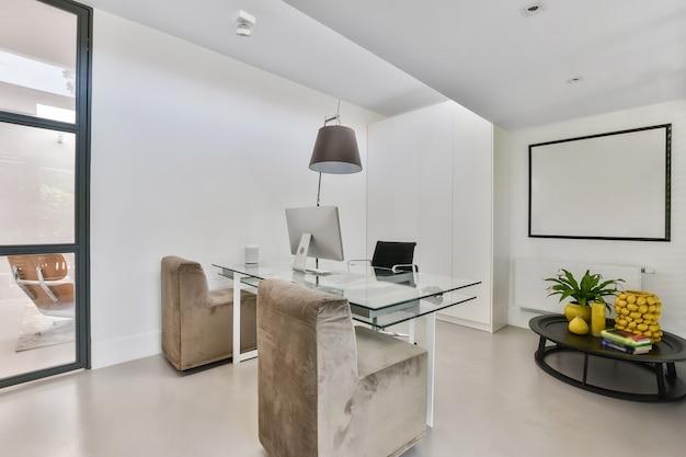 Luksusowa aranżacja nowoczesnego biura