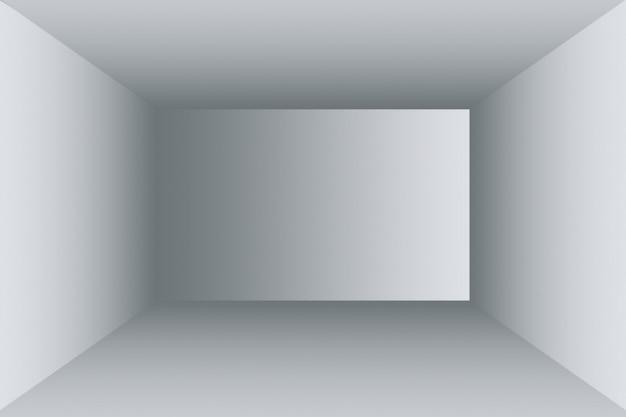 Luksusowa rozmycie streszczenie ciemnoszary i czarny gradient, używane jako tło studio ściany do wyświetlania produktów.