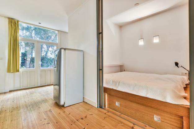 Luksusowa Sypialnia Domu W Pięknym Stylu Premium Zdjęcia