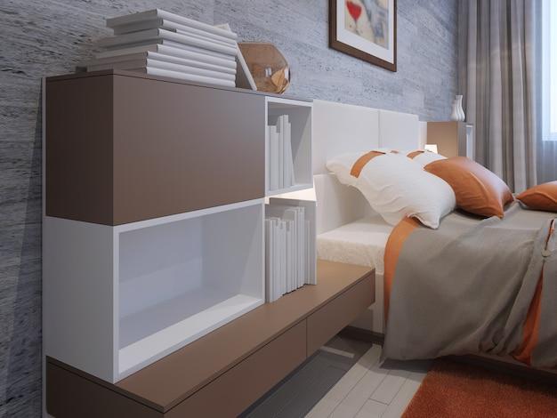 Luksusowa sypialnia o niepowtarzalnym designie