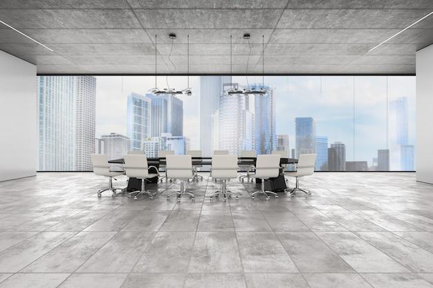 Luksusowe biuro z widokiem na miasto