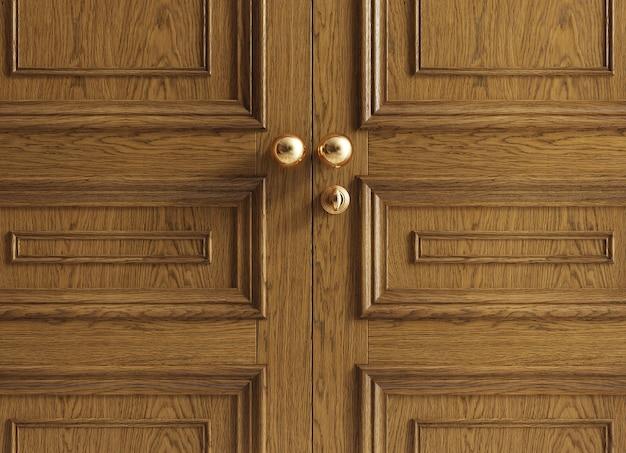 Luksusowe klasyczne drzwi