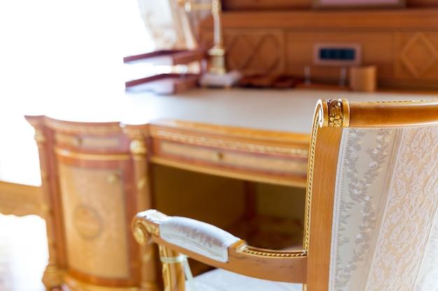 Luksusowe krzesło
