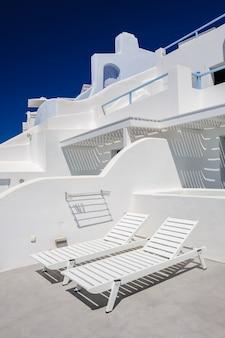 Luksusowe pokłady i patio oia