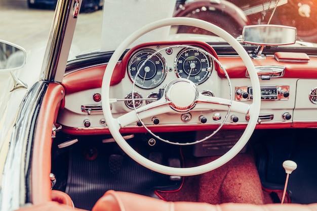 Luksusowe wnętrze samochodu