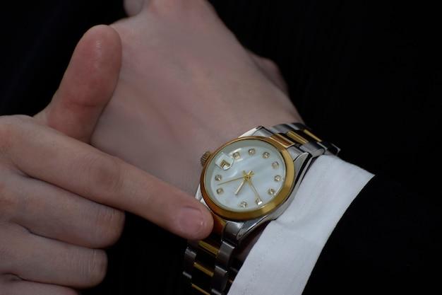 Luksusowe Zegarki To Nagroda Za Osiągnięcia Premium Zdjęcia