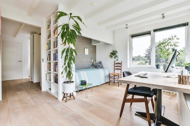 Luksusowy projekt wnętrza nowoczesnego domu