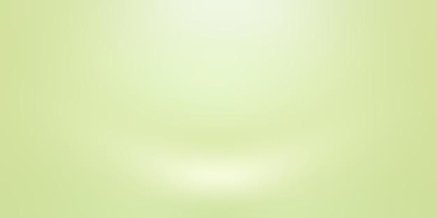Luksusowy zwykły zielony gradient streszczenie tło studio pusty pokój z miejscem na tekst i obraz