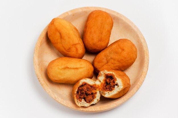 Luti gendang typowy chleb malajski zawierający oryginalne posiekane fres