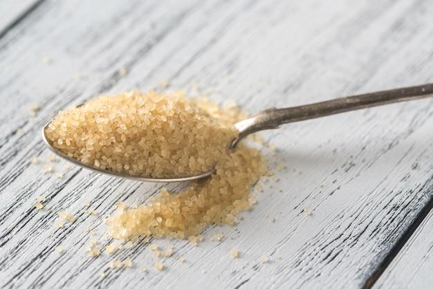 Łyżka brązowego cukru
