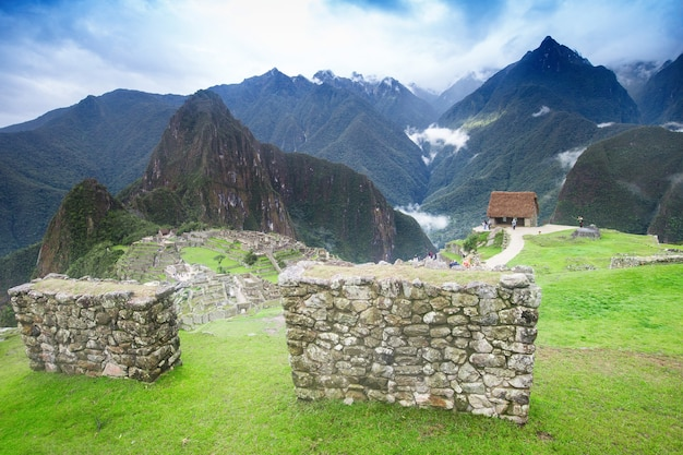 Machu picchu, wpisane na listę światowego dziedzictwa unesco