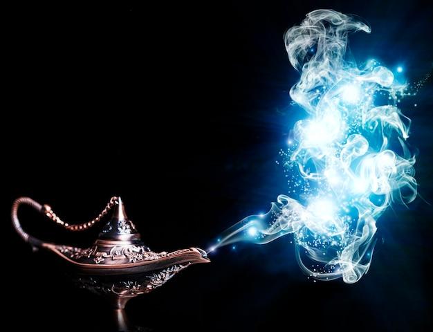 Magiczna lampa aladdin