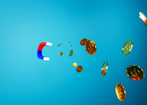Magnes przyciąga pieniądze