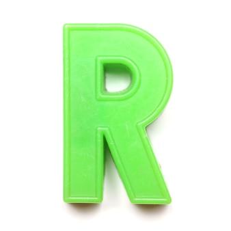 Magnetyczna wielka litera r