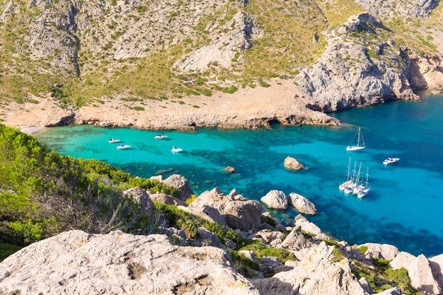 Majorka cala figuera plaża formentor mallorca