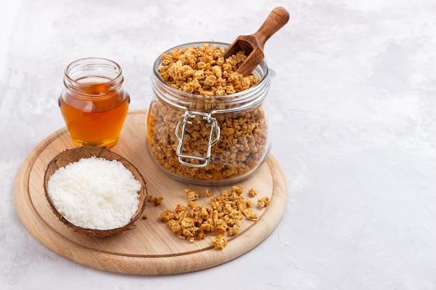 Mąka owsiana i kokosowa