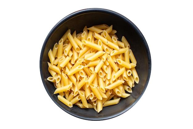 Makaron penne danie główne kuchnia włoska posiłek z pszenicy durum