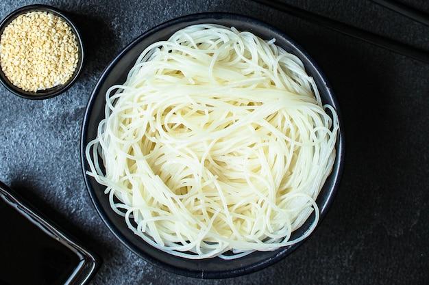 Makaron ryżowy cienki szklany makaron