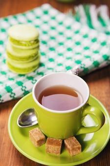 Makaroniki z herbatą
