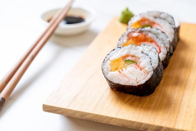 Maki sushi roll mix