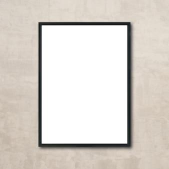 Makieta do zdjęć puste ramki na zdjęcia wiszące na ścianie w pokoju