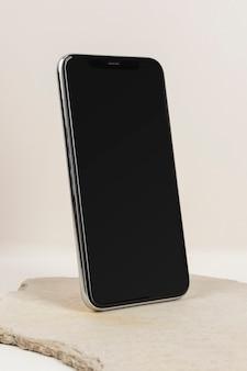 Makieta ekranu cyfrowego telefonu komórkowego