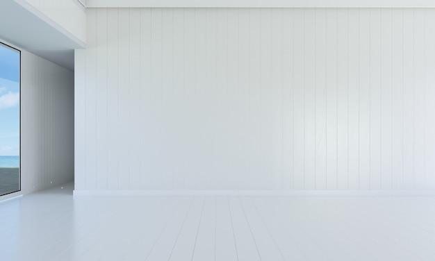 Makieta i dekoracja oraz pusty salon i tło ścienne